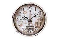 Часы настенные металлические Tour Eiffel