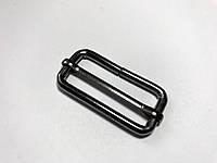 Перетяжка металлическая 4 см блэк.никель (1000шт) усиленная