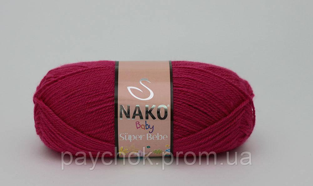 Детский акрил NAKO BABY SUPER BEBE (100% АКРИЛ ) 180м