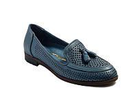 Мокасины EVROMODA 6013-1 36 Синие (SP00000169-36)