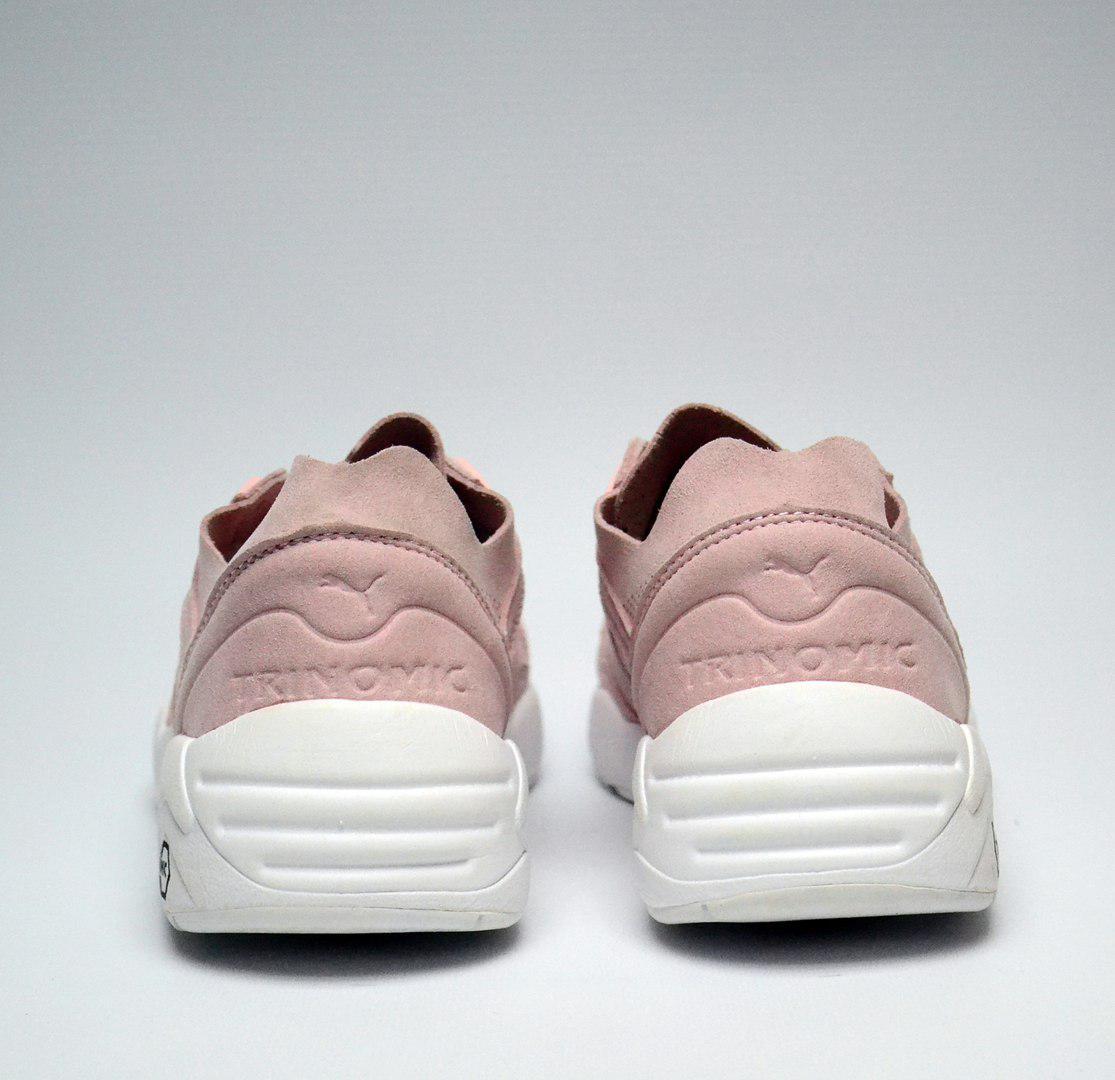 b8cf9449e9b6 ... Женские кроссовки Puma Soft Pink Trinomic, Розовые, Замш, Прошиты, фото  4