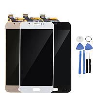 Полная сборка LCD Дисплей+сенсорный экран Замена дигитайзера с ремонтом Набор For Samsung Galaxy A8