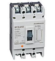 Автоматический выключатель  типа AF, 3-п.,25кА, 25A BT