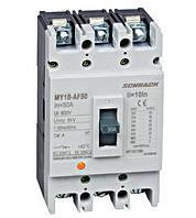 Автоматический выключатель  типа AF, 3-п.,25кА, 50A BT
