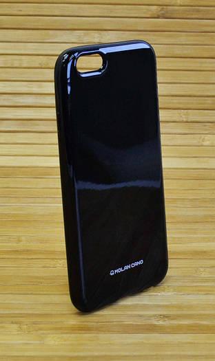 Силиконовый чехол на Айфон, iPhone 6 / 6s Molan черный