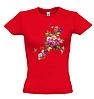 Женская футболка с ЦВЕТАМИ И БАБОЧКОЙ, фото 6
