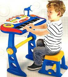 Музична іграшка синтезатор зі стільчиком BO-30, 37 клавіш, Розмір упаковки: 60х43х12 див.