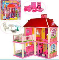 Ляльковий будиночок 6980 з меблями, два поверхи.