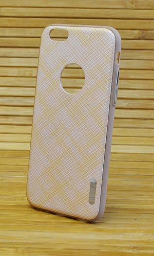 Пластиковый чехол для Айфон, iPhone 6 / 6s VENCO золотой