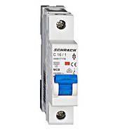 Автоматический выключатель (МСВ), AMPARO, хар.С 16А, 6 кА, 1-п.