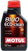 Масло 5W30 ECO-clean 8100 (1L), код 101542, MOTUL