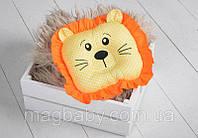 """Дитяча подушка-іграшка для немовлят """"Leo"""", фото 1"""