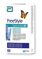 Тест-полоски Фристайл Оптиум (Freestyle Optium) - 100  шт.