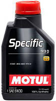 Масло 5W30 Specific (5L)  (Ford WSS M2C 913D), код 104560, MOTUL