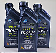 Масло 5W30 Super Tronic LL III (4L)  (VW504 00/507 00/MB229.51/BMW Longlife-04), код 20479, ARAL
