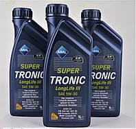 Масло 5W30 Super Tronic LL III (5L)  (VW504 00/507 00/MB229.51/BMW Longlife-04), код 20475, ARAL
