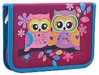 Пенал 1 Вересня твердий одинарний Owl 531786