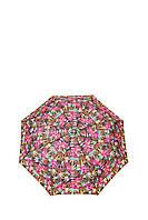 Зонт-полуавтомат Gianfranco Ferre GR-1_розовые цветы женский