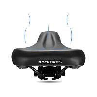 ROCKBROS Soft Анти Shock Thicken Expand Велосипед Седло Спорт MTB Велоспорт Велосипед Седло