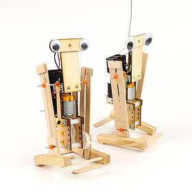 DIY Образовательные Дистанционное Управление Walking Robot Научные изобретения игрушки