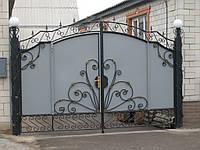 Ковані ворота В-38