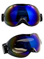 Маска горнолыжная/лыжные очки Nice Face 077: черный цвет