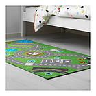 Ковер IKEA STORABO 75x133 см зеленый 703.568.22, фото 7