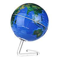 11cm 4 дюймов Электрический самовращающийся мир Земной шар Карта Земли с географией стенда Образование