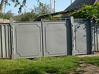 Ворота  з кованими елементами  В-39