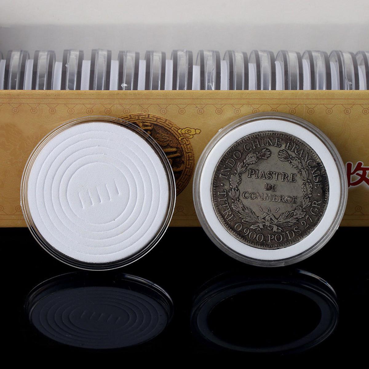 20 штук Прикладная монетная монетка монет Дисплей Держатель для хранения капсул для капсул Protector 20-40mm  - ➊TopShop ➠ Товары из Китая с бесплатной доставкой в Украину! в Днепре