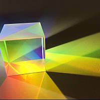 6 штук X-куб Dichroic Cube Prism RGB Combiner Splitter DIY Отделка Образование