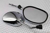 Зеркала Honda SUZUKI (хром,капли)