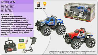 ДЖИП 6568-310/9000 (р/у, аккум,1:12, 35 см, гумові колеса, світло, амортизатори, 2 вид