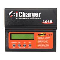 ICharger 306B 1000W 30A 1-6S DC Lipo Батарея Разрядник зарядного устройства баланса