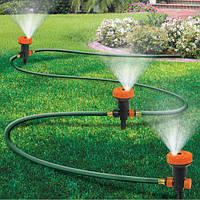Спринклерная система автополива Portable Sprinkler System - автоматический полив газона