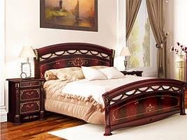 Ліжко з ДСП/МДФ в спальню Роселла 1,6х2,0 з каркасом Миро-Марк