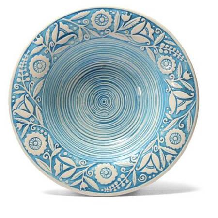 Суповая тарелка - 350 мл, Голубой (Manna Ceramics)