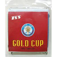 Сетка для настольного тенниса с креплениями Gold Cup 8277