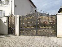 Ковані ворота В-42