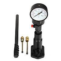 Pop Diesel Injector Датчик давления сопла Dual Шкала Читайте калибровочную панель PSI 0-60Mpa