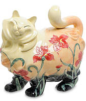 Фарфоровая статуэтка Кошка (Pavone) JP-11/32