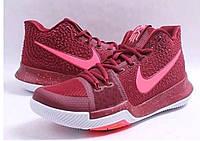 Баскетбольные мужские кроссовки Nike Kyrie 3  Team Red white Hot Punch Branco from Kyrie Irving  реплика