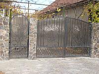 Ворота з профнастилу В-46