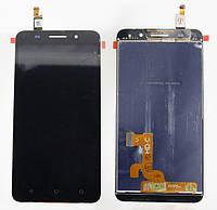 Дисплей модуль Huawei Honor  4X в зборі з тачскріном чорний