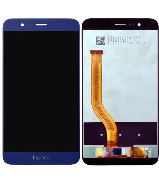 Дисплей Huawei Honor 8 Pro, Honor V9 модуль в сборе с тачскрином, синий