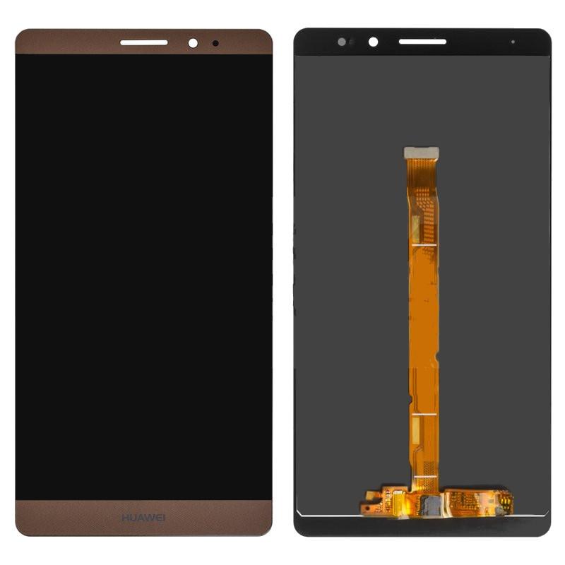Дисплей модуль Huawei Mate 8 в зборі з тачскріном, коричневий