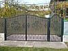 Ворота из профнастила В-45