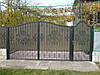 Ворота з профнастилу В-45