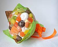 Букет из зефира, мармелада и печенья, фото 1