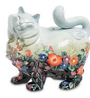 Фарфоровая статуэтка Кошка (Pavone) JP-11/29